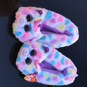 Other - Ty Fuzzy Slippers